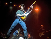 JON GITCHOFF - Nick Jonas: While his tour is spinning, he's seeking feedback from music critics.