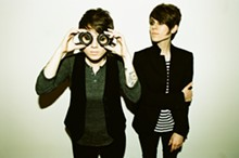 PAMELA LITTKY - Tegan and Sara: Stepping into Sainthood with help from Chris Walla.
