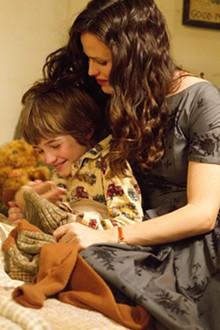 "DISNEY - Cameron ""CJ"" Adams and Jennifer Garner in The Odd Life of Timothy Green."