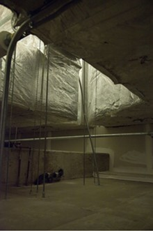 B.J. Vogt, Foundation Cavern 3, 2012, chromogenic color print (Type C), 23 x 16 inches, courtesy of the artist.