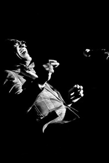 Odell Mitchell, Jr. Ray Charles, 1981, Epson inkjet print, 18 x 12 inches, copyright Odell Mitchell Jr.