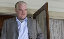 Philip Seymour Hoffman in The Master.