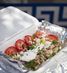 JENNIFER SILVERBERG - The Naked Chicken Souvlaki