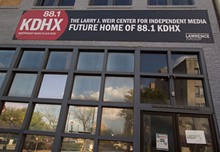 TOM CARLSON - An anonymous donor gifted the building to KDHX in honor of former operations manager Larry J. Weir. Slideshow: A Tour of the Future Home of KDHX