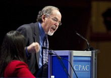 MARK TAYLOR - David Horowitz rants at the 2011 conservative gathering CPAC,
