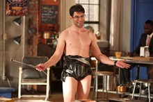 Schmidt is an obsessive compulsive who, thanks to formative years spent bullied and obese, is a shallow shell of a man.