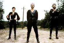 Terence Stamp (center) as General Zod in Superman II (1980).