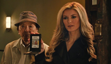 James Hong and Marisa Miller in R.I.P.D.