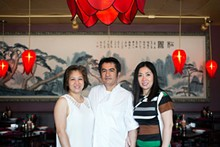 JENNIFER SILVERBERG - Manager Linh Tu, executive chef Nelson Tran and owner Dee-Dee Tran. See also: Inside Mi Linh in Rock Hill