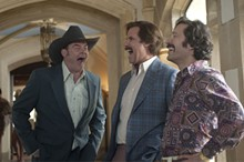 GEMMA LAMANA - Koechner, Will Ferrell and Paul Rudd in Anchorman 2.