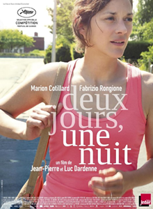 The Cannes poster for Two Days, One Night.