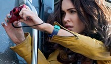 Megan Fox, the new April O'Neil.