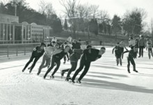 MISSOURI HISTORICAL SOCIETY - Steinberg Skating Rink has been a popular winter spot for years.