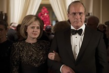 MATT KENNEDY/ANNAPURNA PICTURES 2018 © - Lynne and Dick Cheney (Amy Adams and Christian Bale) were like the Macbeths of early-oughts Washington.
