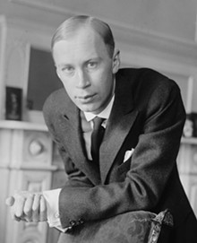 A young Sergei Prokofiev