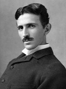 Nikola Tesla, who will be there in spirit.
