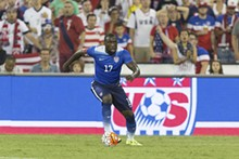 ISIPHOTOS.COM - Form Hull City Tigers striker Jozy Altidore works his magic for the U.S. Team.