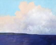 ELLEN GLASGOW - The Callawassee (SC), 2014 - Oil on Linen - 48'' by 60''