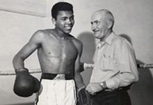 MUHAMMAD ALI AND JOE MARTIN - Tom Easterling, The Courier-Journal, USA TODAY Sports