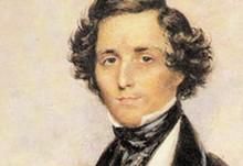 Felix Mendelssohn, looking good as always.