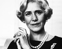 CARL VAN VECHTEN - Playwright and politician Clare Boothe Luce.