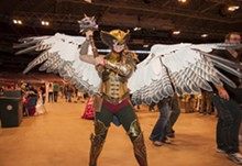 MICAH USHER - Hawkwoman been a bad-ass since the '50s -- where's her movie?