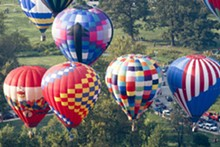 COURTESY GREAT FOREST PARK BALLOON RACE