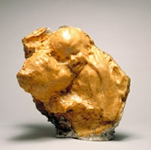 Medardo Rosso. Aetas aurea (Golden Age), late 1885-1886. Wax with plaster interior, 19 x 18 1/4 x 14 in. (48.3 x 46.4 x 35.6 cm). Raymond and Patsy Nasher Collection, Nasher Sculpture Center, Dallas. Photograph by David Heald.