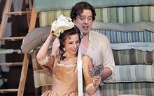 KEN HOWARD FOR OPERA THEATRE ST. LOUIS - A scene from Opera Theatre St. Louis' 2010 production of The Marriage of Figaro.