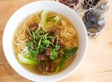 MABEL SUEN - Handmade noodle soup at Corner 17.