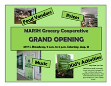 New sliding scale natural foods grocery in South City - Uploaded by marsh