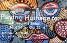 Paying Homage To = A juried art exhibit - Uploaded by SouldardArtGallery