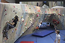 RFT FILE PHOTO - Upper Limits Indoor Rock Climbing Gym
