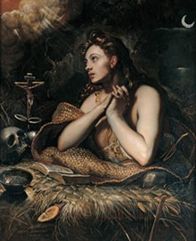 Mary Magdalene, by Dominico Tintoretto.