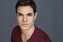 Jason Gotay plays Prince Eric in the Muny's The Little Mermaid.
