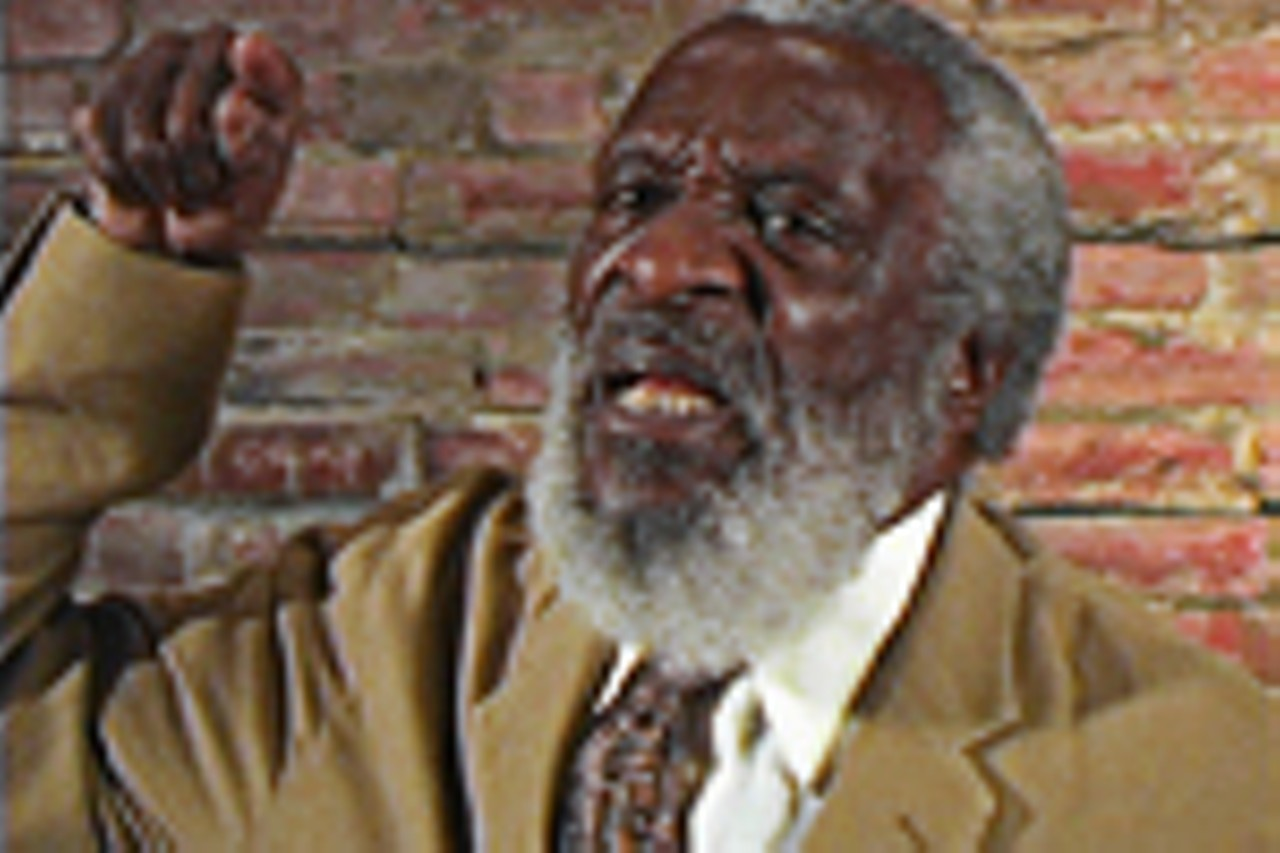 If anybody knows the power of a well-placed naughty word, it's Dick  Gregory. This is a guy who titled his 1964 autobiography Nigger.