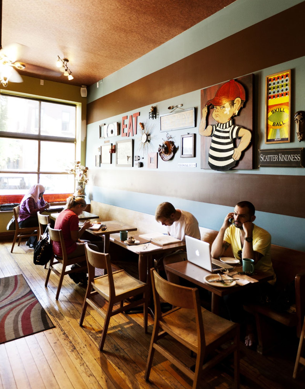 The Mud House in Benton Park is a coffee shop that serves killer ...