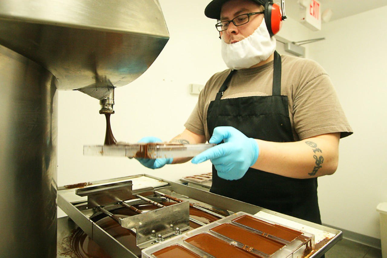 Bean to bar manufacturers patric and askinosie are putting for Food bar manufacturers