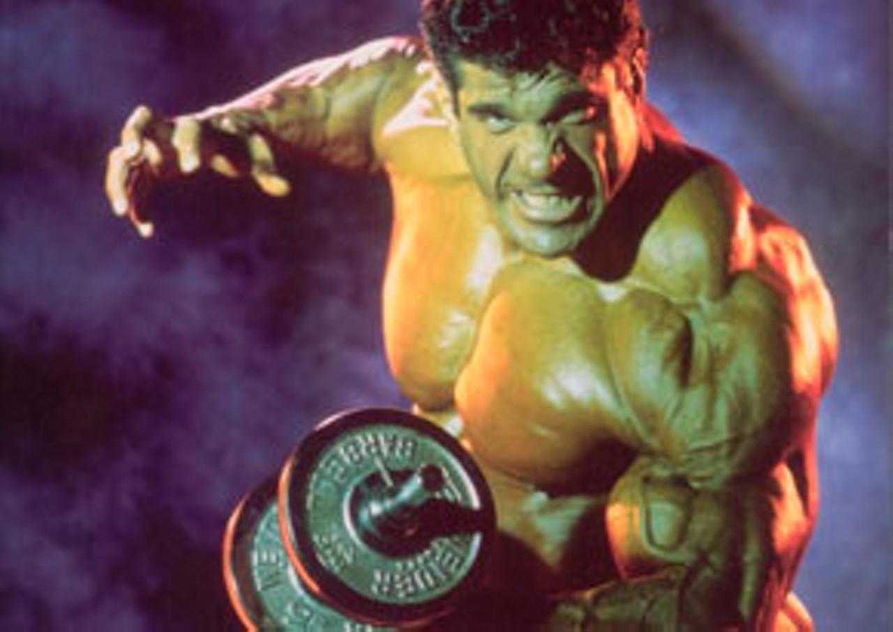 incredible hulk lou ferrigno - 736×997