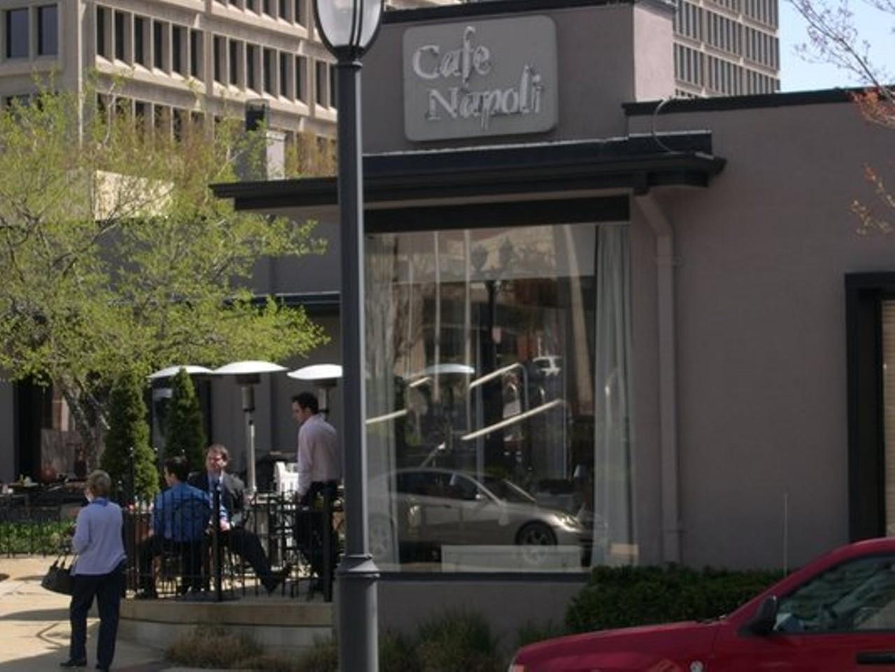 Cafe Napoli Clayton Menu