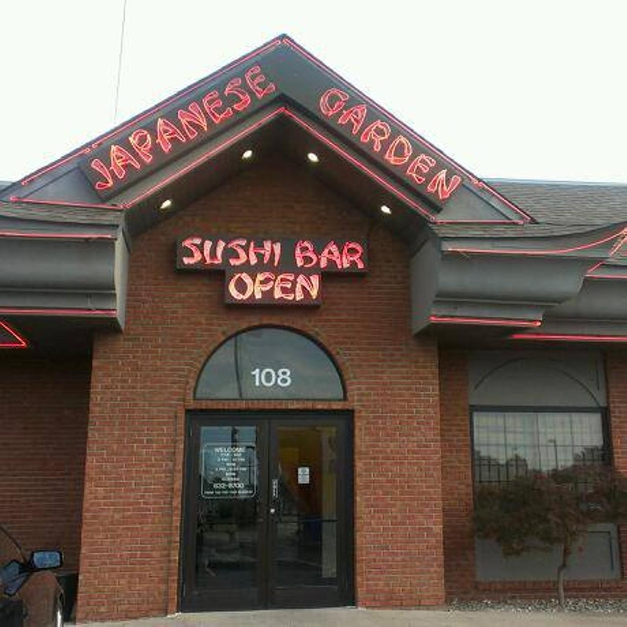 Japanese Garden | Belleville/ Fairview Heights | Japanese, Sushi ...