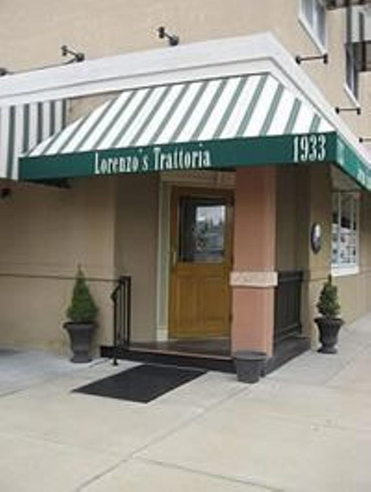Lorenzos Trattoria St Louis The Hill Italian Restaurants