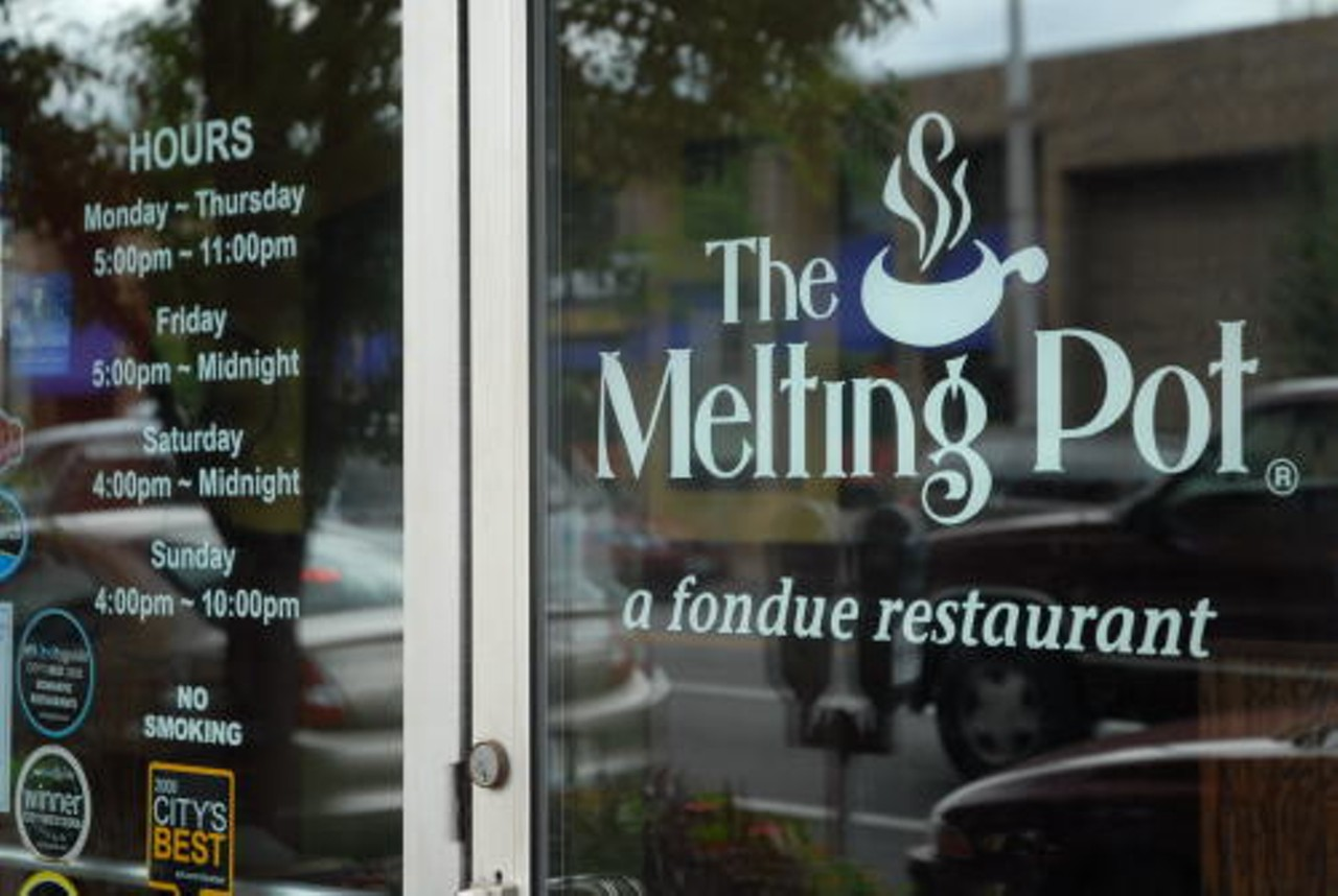 the melting pot city delmar the loop fondue bars and clubs venues