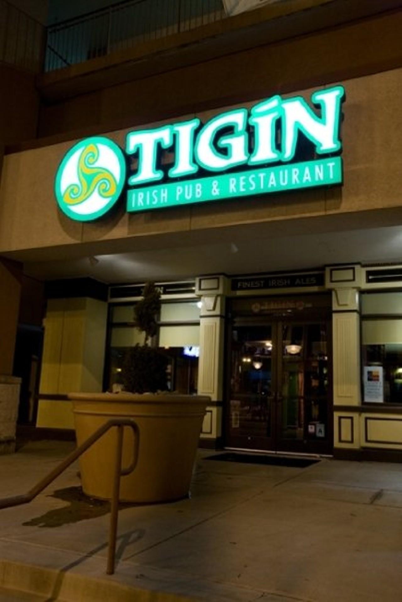 Tigin Irish Pub Restaurant St Louis Downtown American Bars And Clubs Restaurants