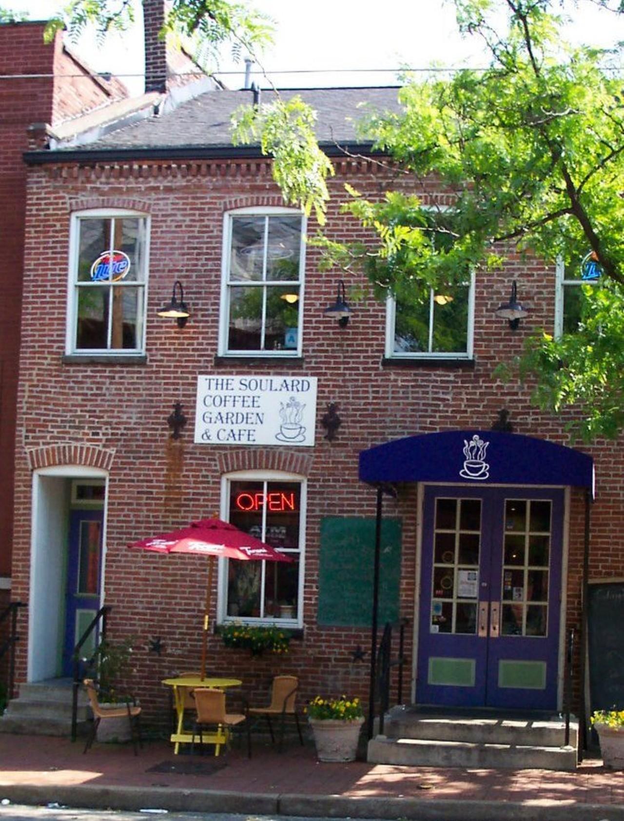 Soulard Coffee Garden Caf 233 St Louis Soulard
