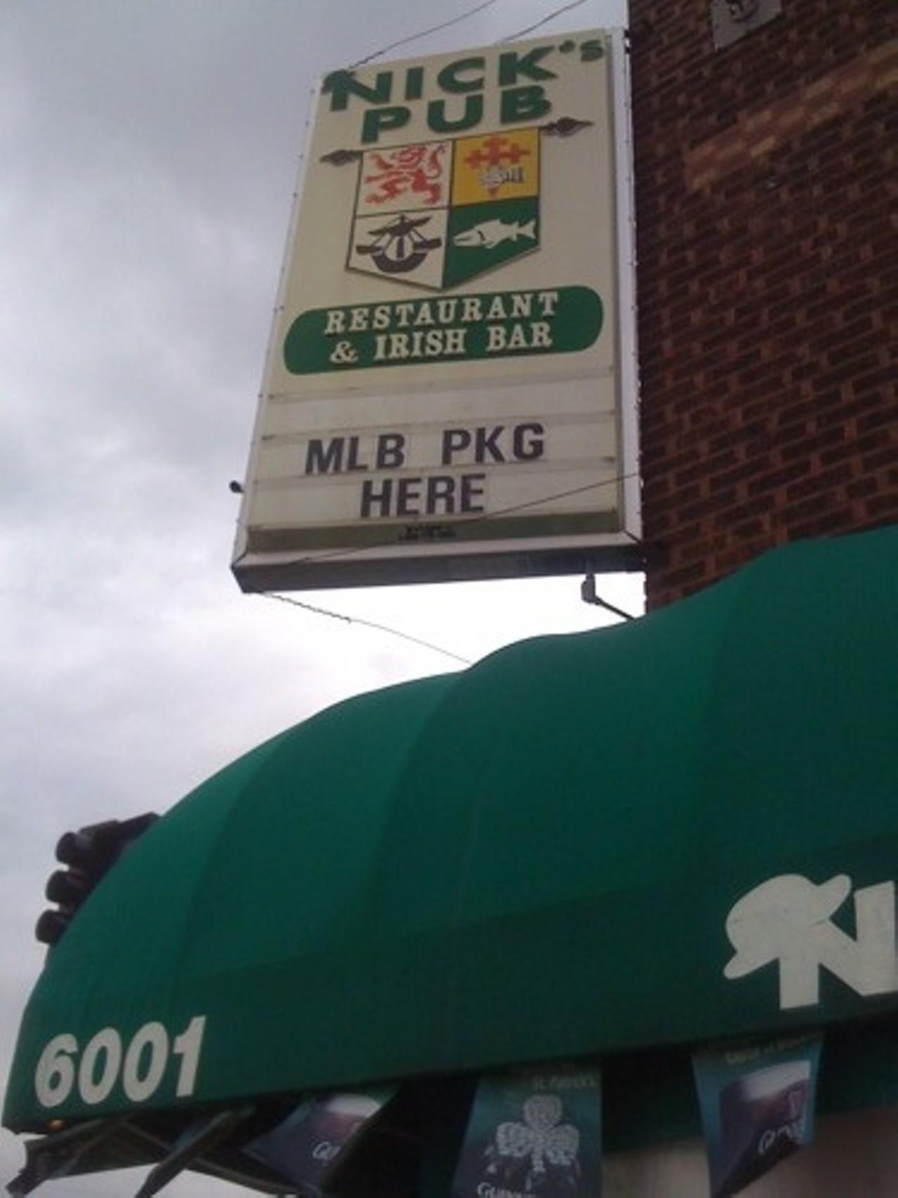 Nicks pub stl
