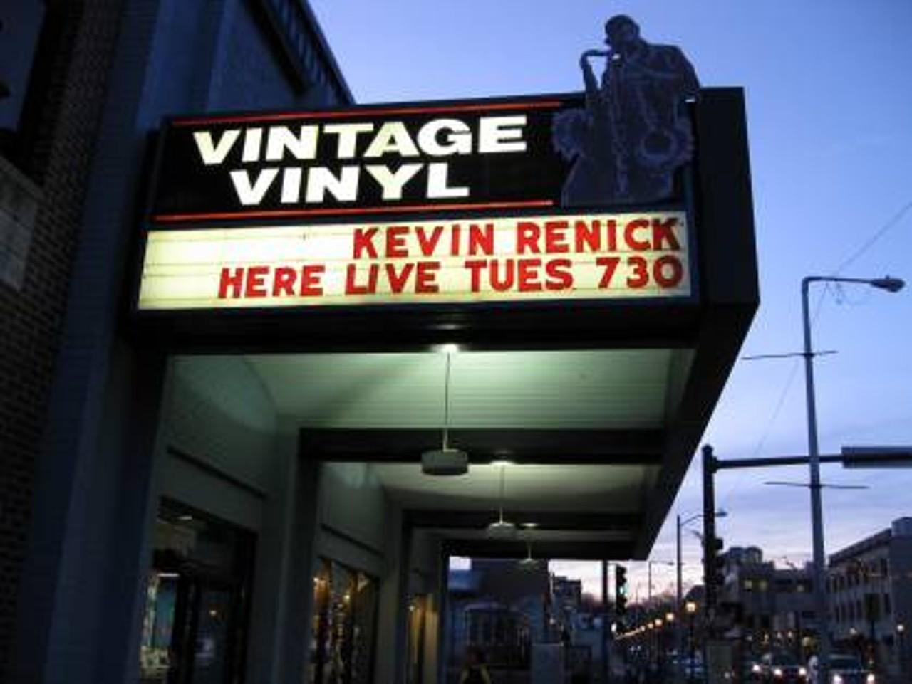Vintage Vinyl Delmar The Loop Retail Music Venues