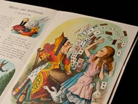 """ART REVIEW: """"Alice IN the Looking Glass: Illustrations and Artists' Books, 1865-2012"""""""