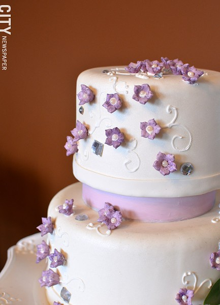 A cake from Gourmet Goodies, in Victor. - PHOTO BY MATT DETURCK