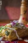 A chili relleno at La Casa Restaurant in the South Wedge.